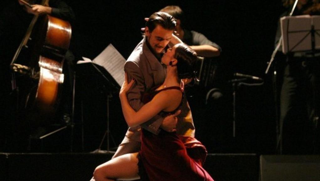 спортивное танго танец