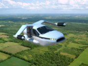 летающий автомобиль tf-x