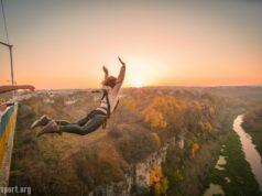роупджампинг прыжки на веревке